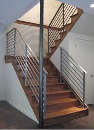 stainless steel banister rails handmade rudess stair railing by eric david laxman custommade