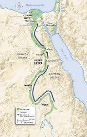 nile river on map lt 4 1 i can explain the importance of the nile river