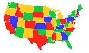 usa map with states us map states color in united states map thempfa org