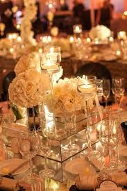 mirror table decorations weddings centerpiece mirrors square 6