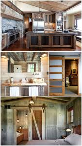 best 25 rustic houses ideas on pinterest rustic homes barn creative ways to use corrugated metal in interior design