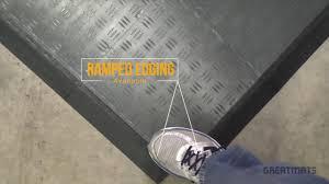 Modular Flooring Tiles Garage Floor Tile Diamond Modular Garage Flooring Tiles Youtube