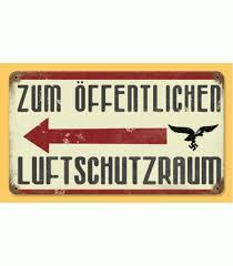 German Flag 1940 Ww2 German Metal Road Sign