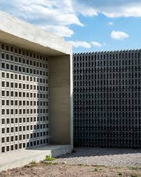 low cost homes agustin lozada blends concrete and glass for pair of low cost