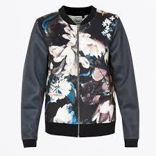 by simonsen gloria print bomber navy bomber jacket by simonsen