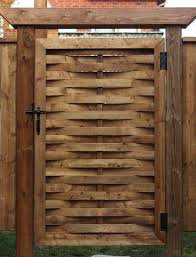 add a woven gate to your yard u2013 canadian woodworking magazine