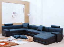 Sectional Sofa Sale Modern Urbano Black Bonded Leather Sectional Sofa Set Rsf