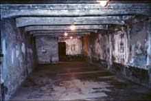 chambre à gaz l ouverture de birkenau auschwitz ii les bunkers i et ii