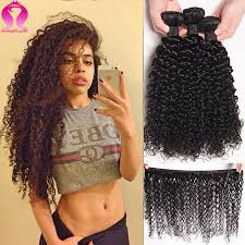 model star style brazilian virgin short curly weave