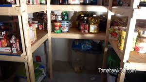 basement storage shelves how to build simple basement shelves youtube