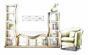 Interior Decoration Sketches Interior Design Sketches Of Furniture 2018 Publizzity Com