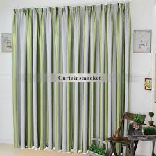 Green Striped Curtains Catchy Green And Gray Curtains Decor With Grey And Green Striped