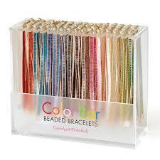 color bead bracelet images Color bars 96 pc asst inline jpg