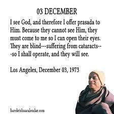 srila prabhupada s quotes for 03 december hare krishna calendar