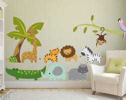Wall Decal For Kids Room by Fabric Wall Decal Etsy