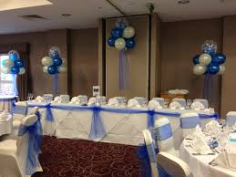royal blue chair covers royal blue ivory and silver wedding decorations help