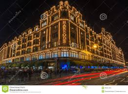 Christmas Decorations Online London by Harrods Store In London Uk With Christmas Decorations Editorial