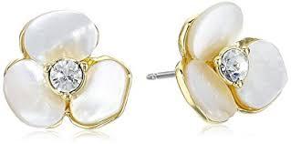 earrings new york kate spade new york disco pansy stud earrings