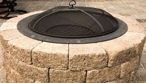 How To Use A Firepit Build A Patio Block Pit