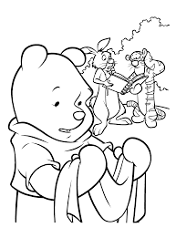 coloring page winnie the pooh coloring pages 14