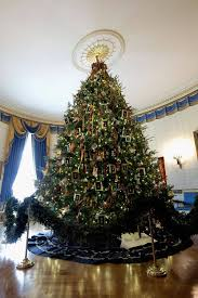 the white house military christmas and christmas in mourning