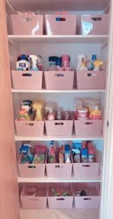 kitchen cupboard storage ideas dunelm mrs hinch fan shares snap of immaculately organised