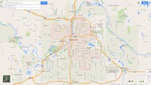Michigan Map by Grand Rapids Michigan Map