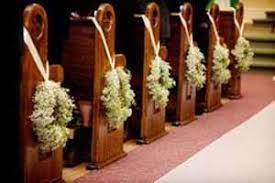 church pew decorations ideas for church pews wedding decorations wedding corners