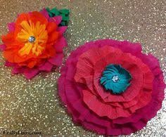 How To Make Mexican Paper Flowers - video how to make mexican paper flowers ehow spanish for prek