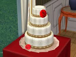 wedding cake the sims 4 sims 4 wedding cake image images how to cut wedding cake on sims 4
