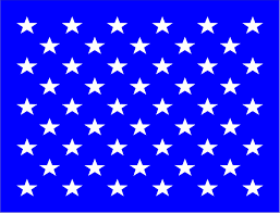 Flag Of Zimbabwe 50 Stars Us Flag Reusable Stencil Available In 19 Sizes