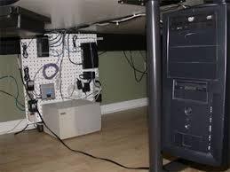 Under Desk Cpu Mount Under Desk Pegboard Gadget Mount Redux Life Hackers Desks And