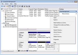 use windows 7 disk manager to extend windows 7 system partition