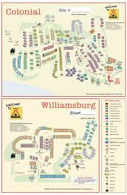 Virginia Area Code Map by Williamsburg Virginia Campground Williamsburg Busch Gardens