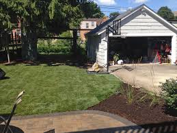 Backyard Paver Patio by Paver Patio And Stoop In Arlington Heights Landscaping And