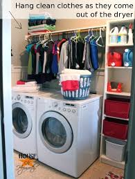 How To Build Closet Shelves Clothes Rods by Adding More Functional Space In The Laundry Room Storage Shelf