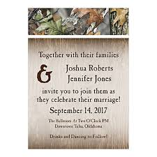 camouflage wedding invitations personalized camo wedding invitations