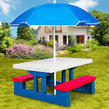 childrens bench and table set children bench table set with parasol garden furniture patio outdoor