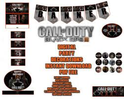 Call Of Duty Bedding Call Of Duty Etsy