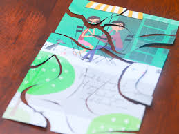 Make A Invitation Card How To Put Old Greeting Cards To Use 15 Steps With Pictures