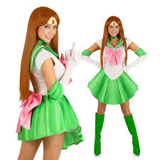 sailor jupiter anime superhero costume