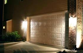 install outdoor garage lights over door outside lights how to install outdoor lighting genie