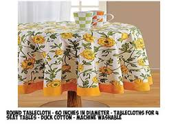 Where To Buy Table Linens - most popular table cloth round 60 on amazon to buy review 2017