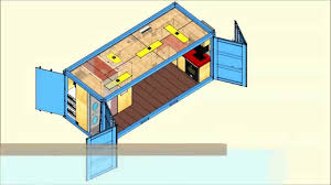 Shipping Containers Homes Floor Plans 20 Ft Container House Plans Luxihome