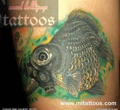 black moor goldfish tattoo tattoo artists org