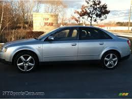 audi a4 2004 silver 2004 audi a4 1 8t quattro sedan in light silver metallic 119014