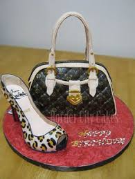 louis vuitton shoes and purse birthday cakes purse birthday cake