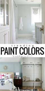 Popular Wall Colors by Remodelaholic Paint Color Trends For 2017