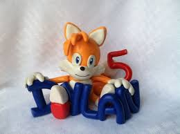 sonic the hedgehog cake topper 8 best tails the fox images on sonic cake anniversary