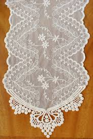 decor navy lace table runners for cool dining table accessories ideas
